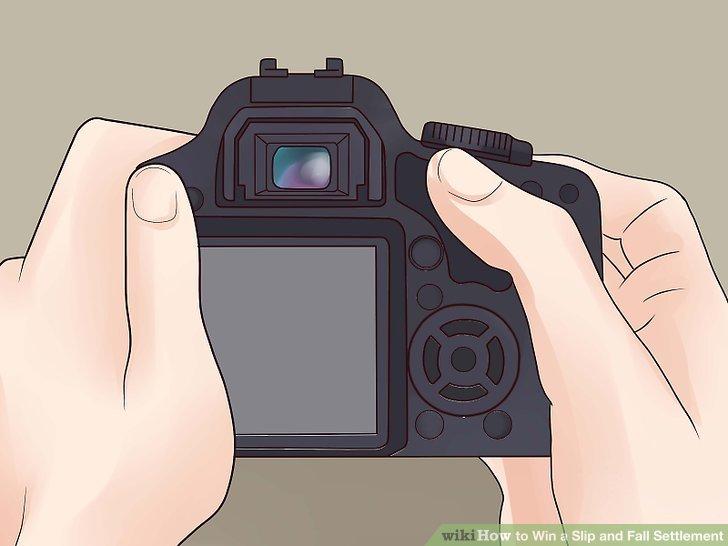 Fotografiere, wo du gefallen bist.