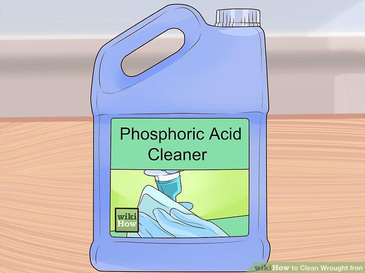 Hartnäckigen Rost mit Phosphorsäure angreifen.