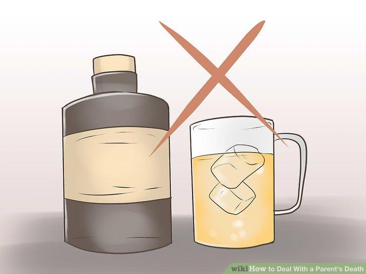 Vermeiden Sie den Alkohol für eine Weile.