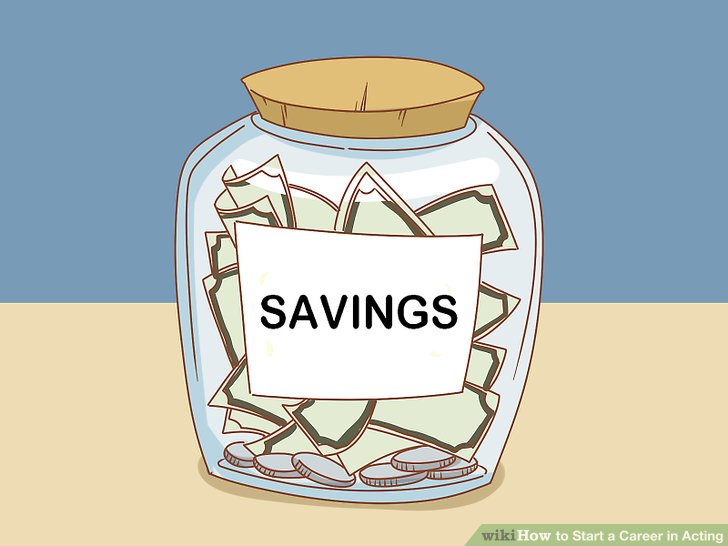 Be financially prepared.