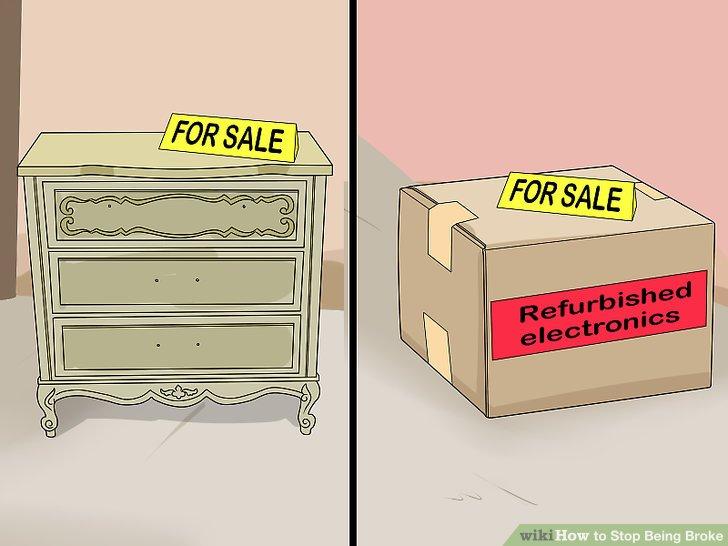 Buy used items.