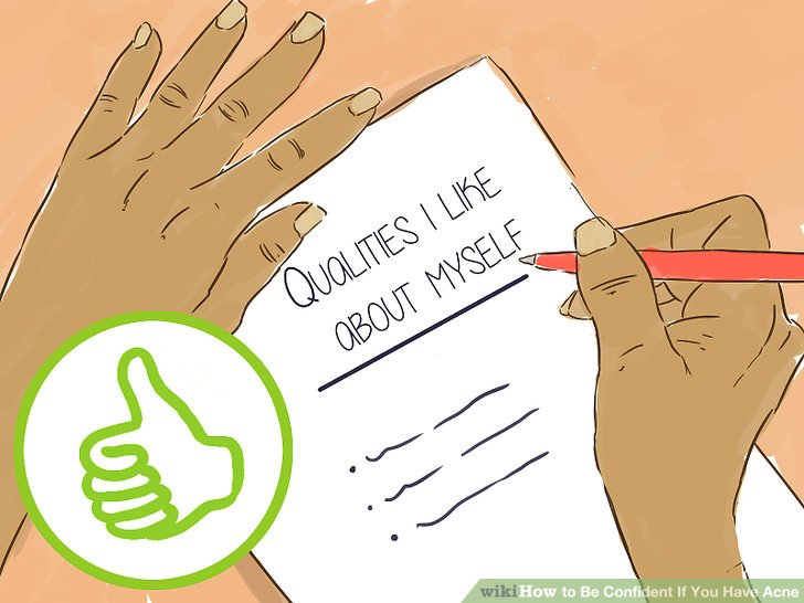 Write down qualities you like about yourself.