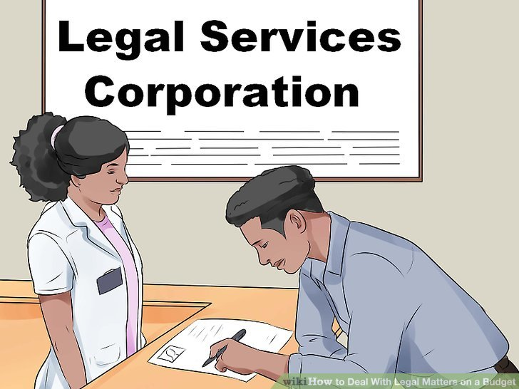 Apply for federally-funded legal aid services.