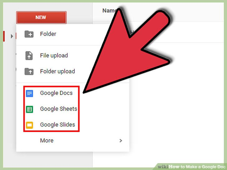 How To Make A Google Doc With Pictures WikiHow