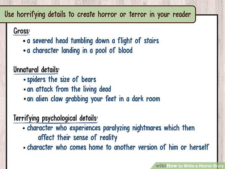 Creative Scary Story Writing Prompts