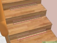 How to Carpet Stairs (with Pictures)