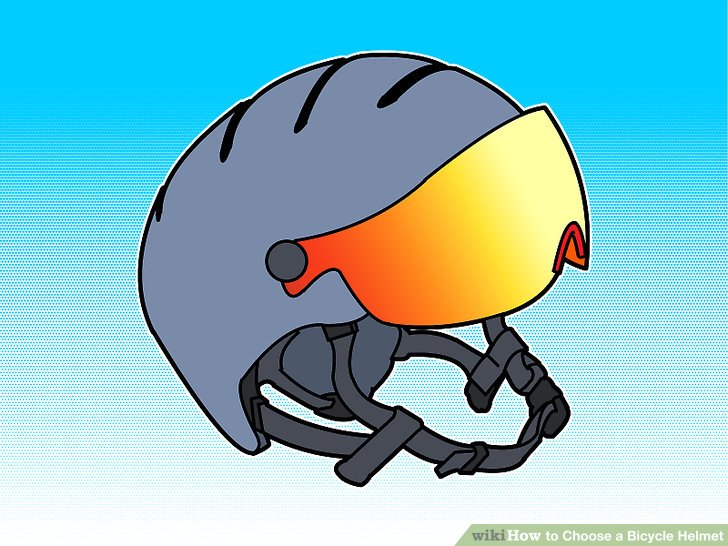 Wählen Sie einen für Ihre Aktivität geeigneten Helm aus.