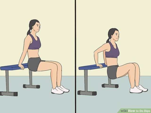 4 Ways to Do Dips - wikiHow