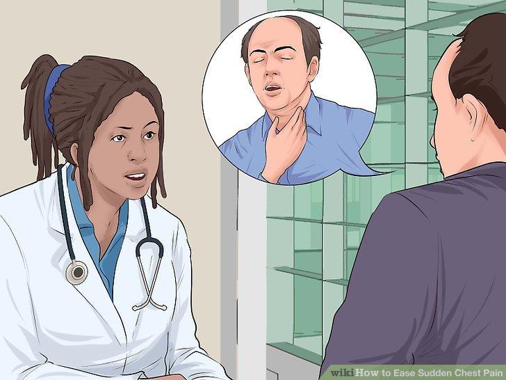 Suchen Sie einen Arzt auf, wenn die Symptome einer Lungenentzündung ernst werden.