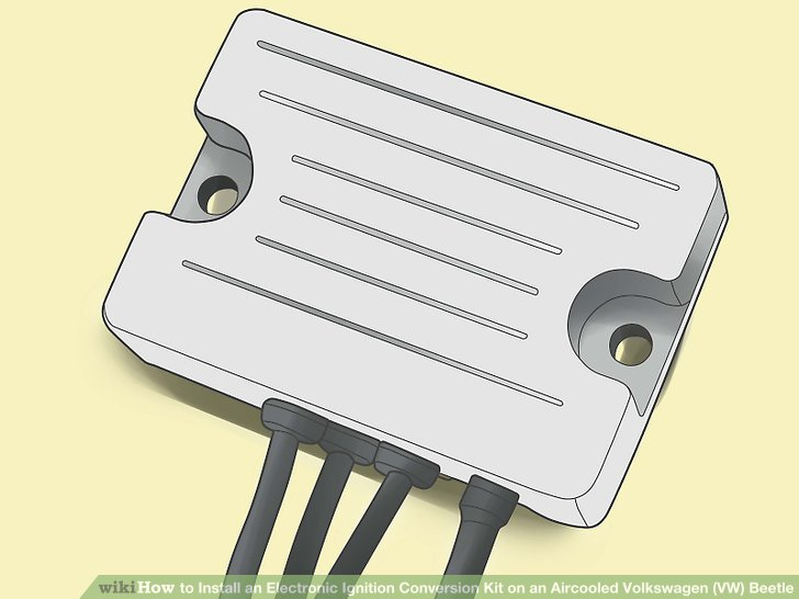 vw bug ignition coil wiring diagram 4 round trailer plug how to install an electronic conversion kit on aircooled volkswagen (vw) beetle