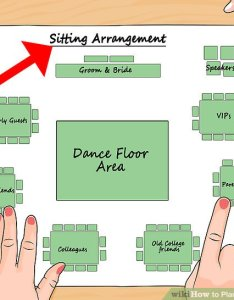 Image titled plan  wedding reception step also how to steps with pictures rh wikihow