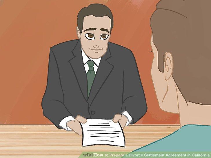 Zeigen Sie die Vereinbarung einem Anwalt.