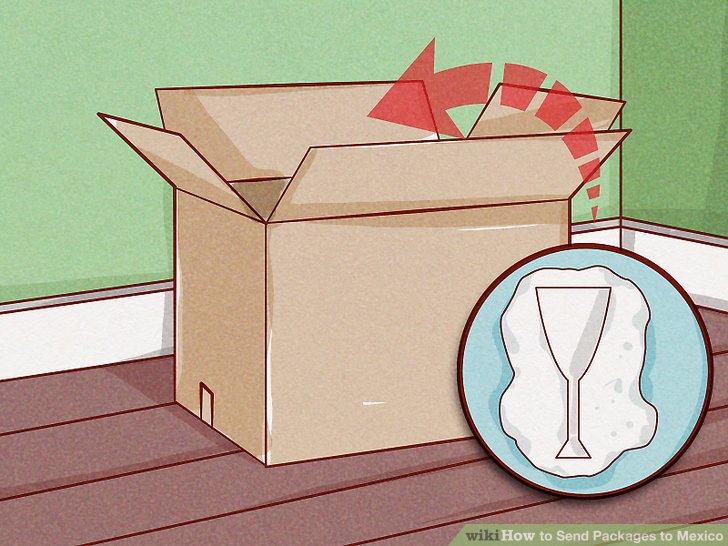 Wählen Sie eine robuste Schachtel mit Platz für die Dämpfung des Inhalts.