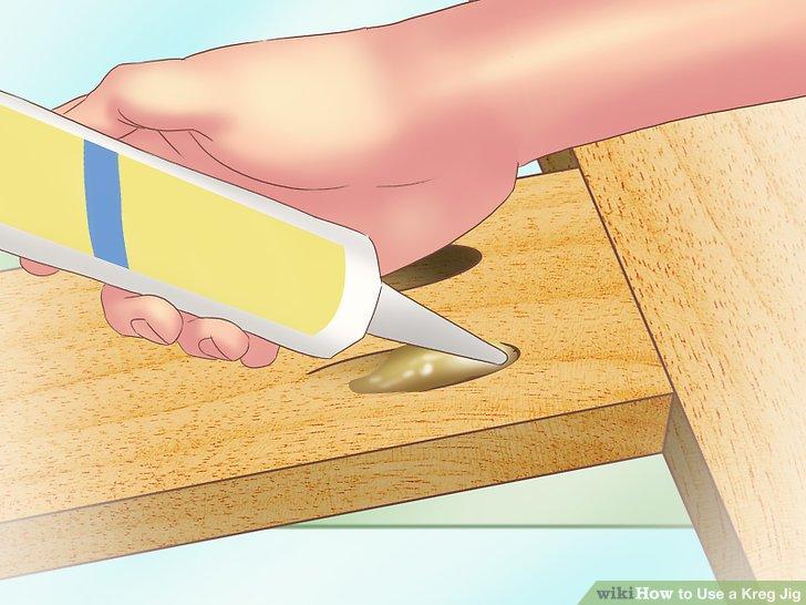 Cep deliklerini tahta tapa veya yapıştırıcı ile gizleyin.