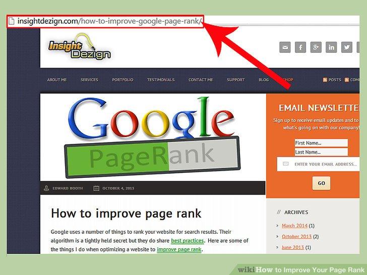 Stellen Sie sicher, dass Ihr Inhalt mit Ihrer Websitebeschreibung und Ihren Keywords übereinstimmt.