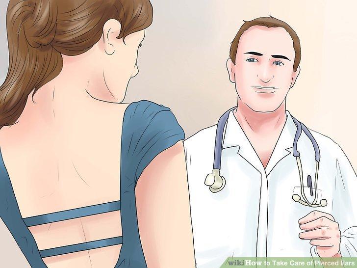 Vereinbaren Sie einen Termin mit Ihrem Arzt, damit die Infektion nicht nachlässt.