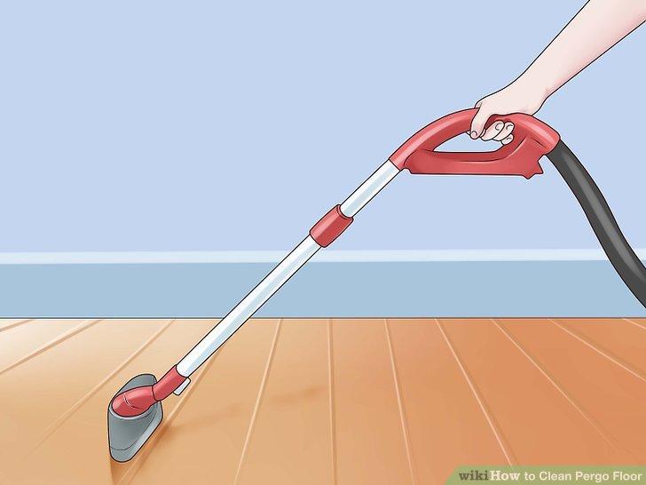 Verwenden Sie ein Vakuum, um Schmutz, Staub und Haare aufzusaugen.