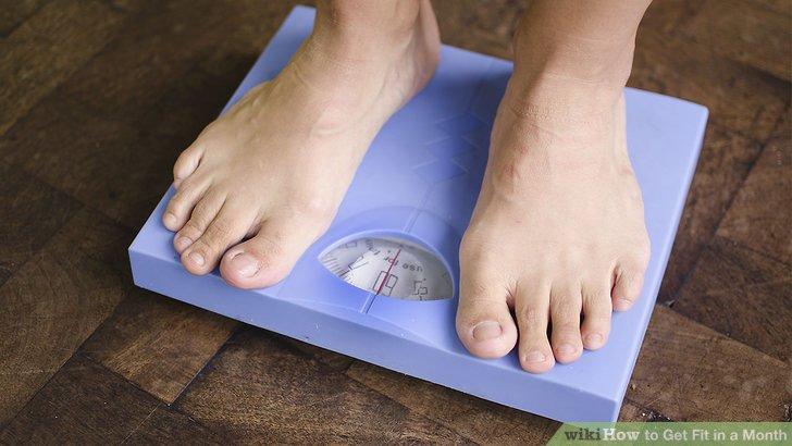 Zeichnen Sie Daten zu Ihrem aktuellen Fitness-Level auf.