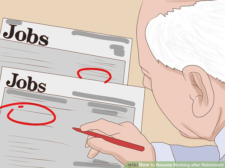 Look for industries that hire workers over age 50.