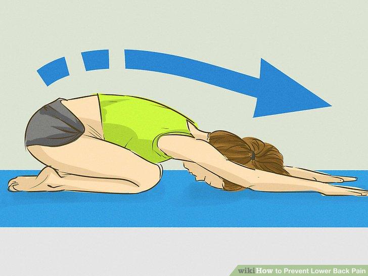 Behandeln Sie kleinere Rückenbeschwerden zu Hause.