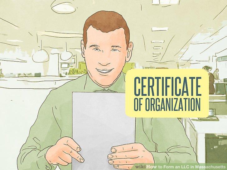 Fordern Sie das Formular für das Organisationszertifikat an.