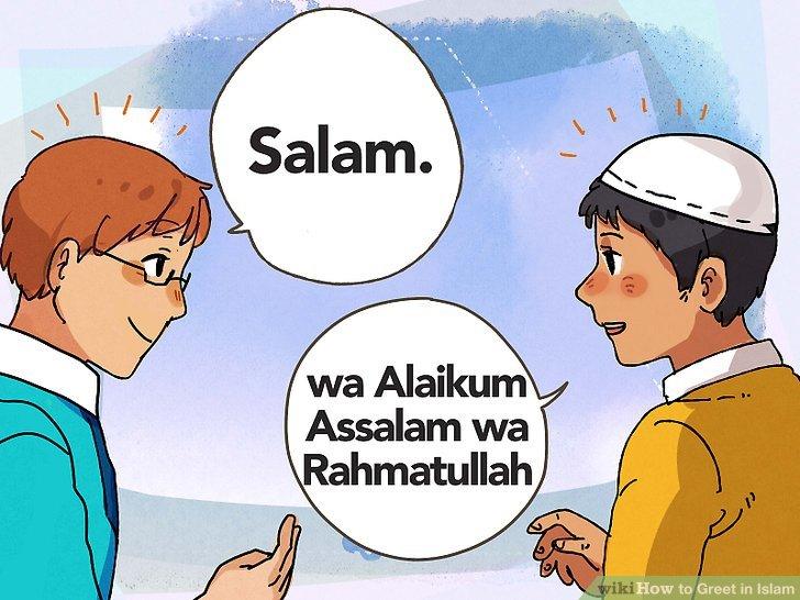 Erwarten Sie, dass ein Muslim die Salam-Begrüßung zurücksendet.