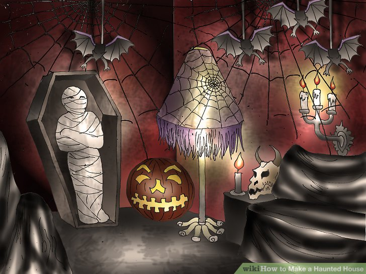 Making a haunted house ideas for Homemade haunted house effects