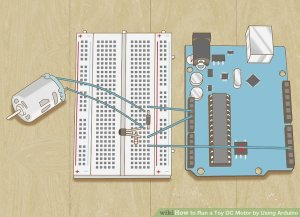 How to Run a Toy DC Motor by Using Arduino (with Pictures)