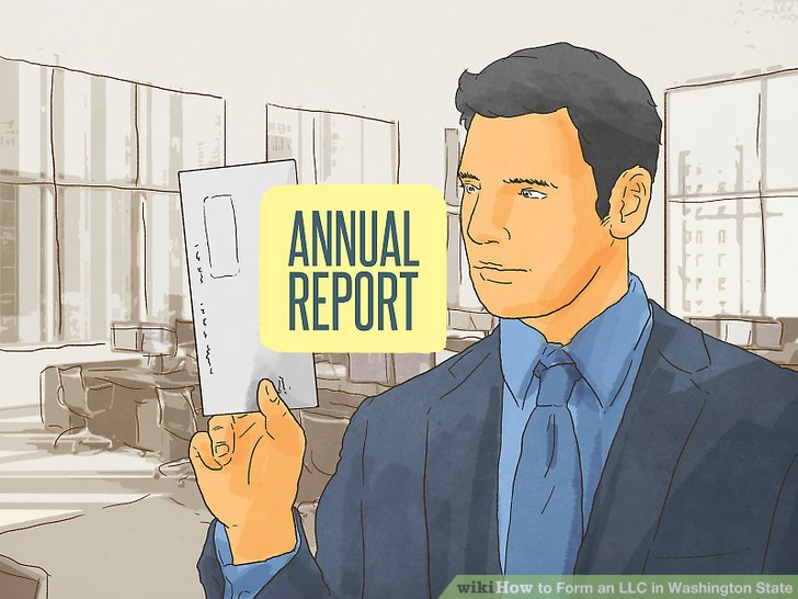 File an Initial Annual Report with the Secretary of State.