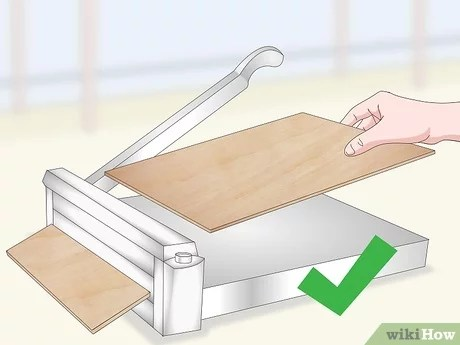 how to cut vinyl tile 7 steps with