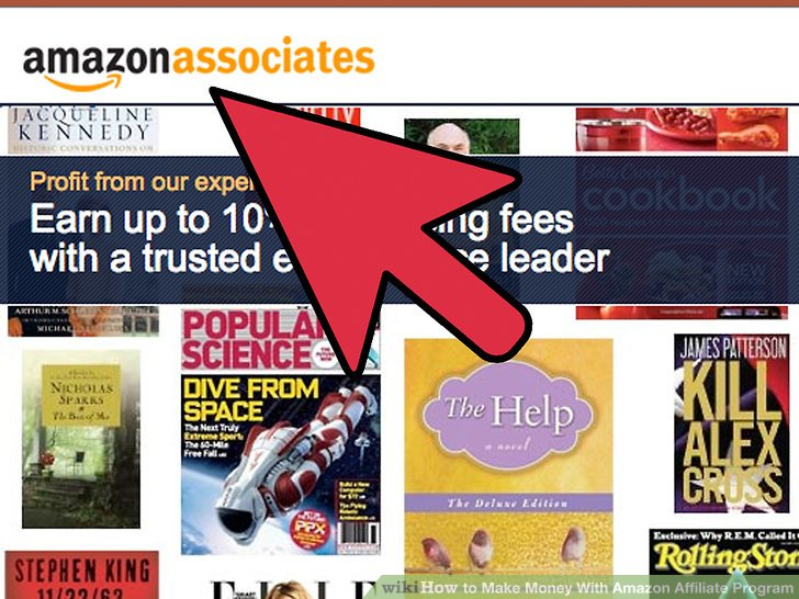 Gehen Sie zu affiliate-program.amazon.com.