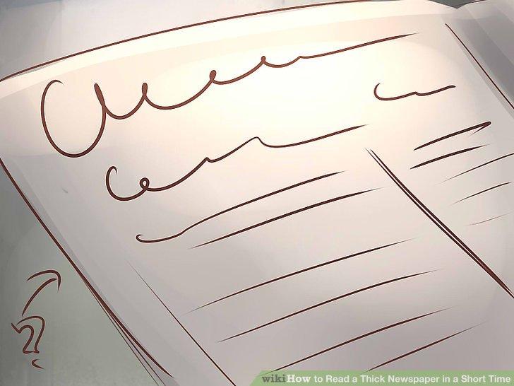 Geben Sie den Überschriften und ersten Absätzen einen schnellen Scan.