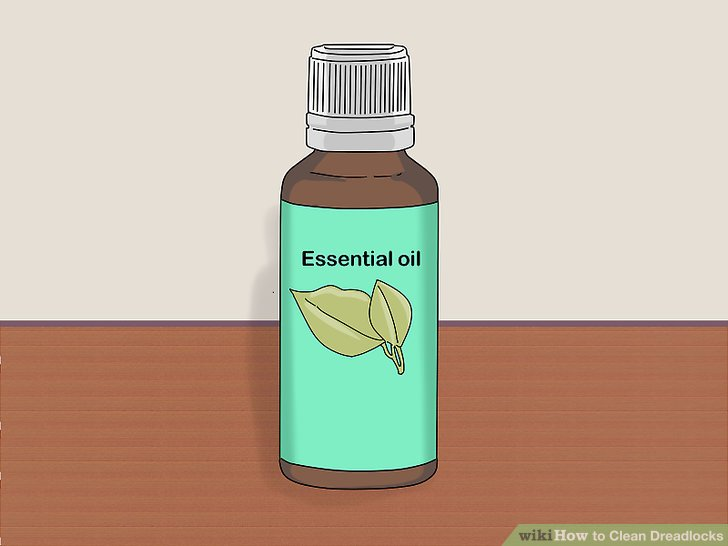 Freshen your locks with essential oils.