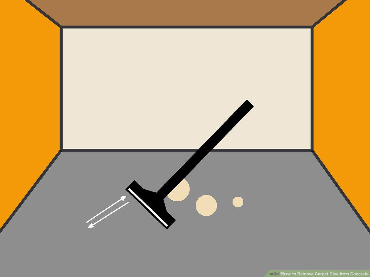 How To Strip Carpet Glue From Concrete