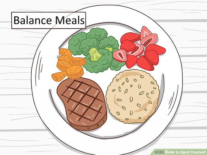 Eat nourishing foods.
