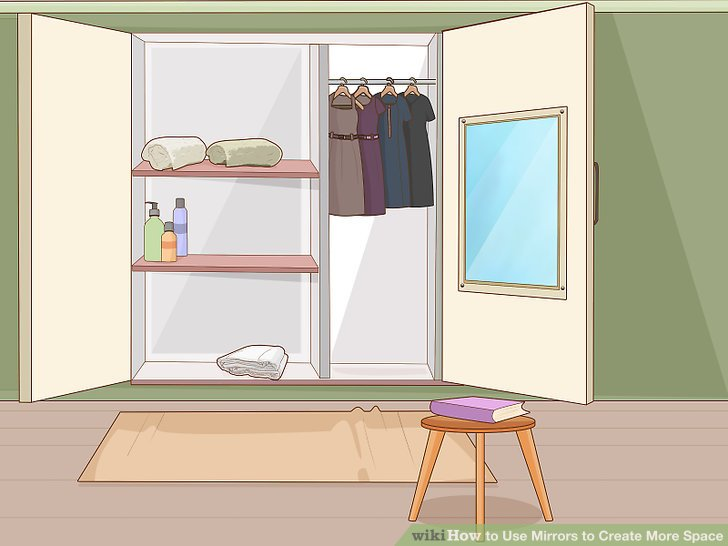 3 Ways To Use Mirrors To Create More Space Wikihow