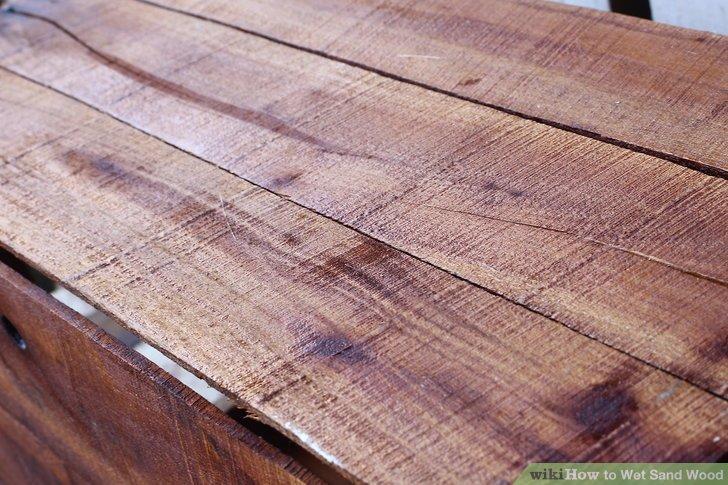 Wet Sanding Wood On Lathe