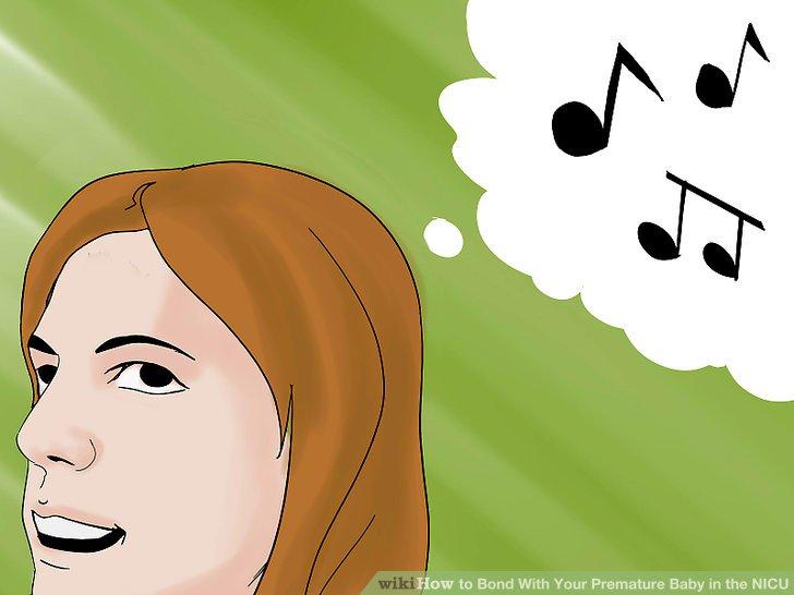 Beachten Sie die Reaktion des Babys auf Ihre Stimme, wenn Sie sanft sprechen oder leise singen.