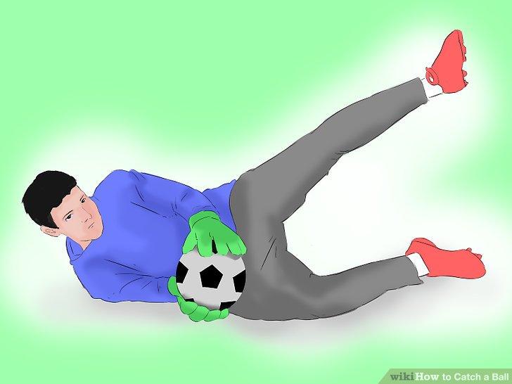 Catch ground balls with proper body blockage.