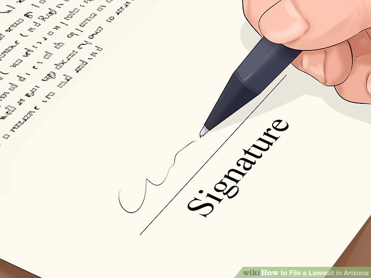 Sign your forms.