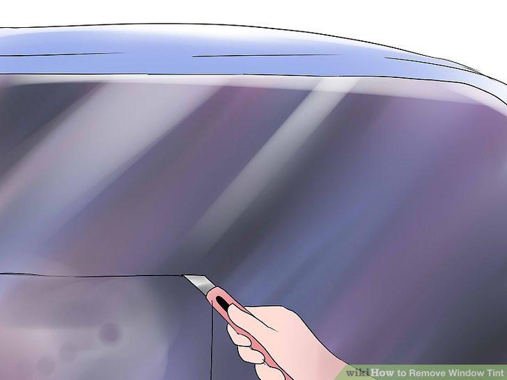 5 Ways to Remove Window Tint  wikiHow