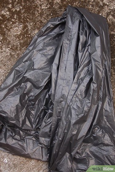 How to Make a Trash Bag Poncho 5 Steps with Pictures  wikiHow
