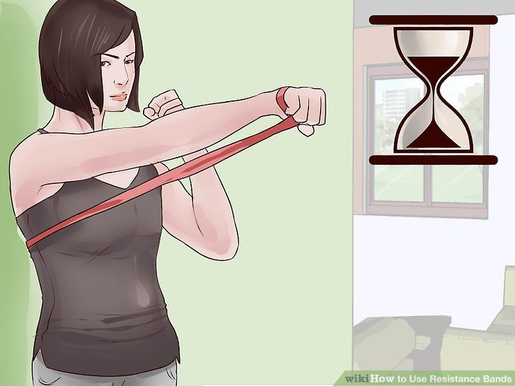 Verwenden Sie langsame, kontrollierte Bewegungen für eine perfekte Form.