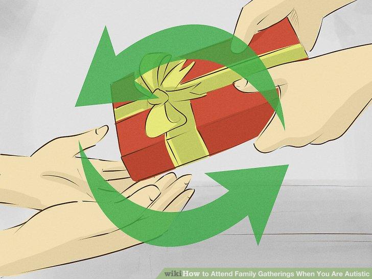Geschenke austauschen.