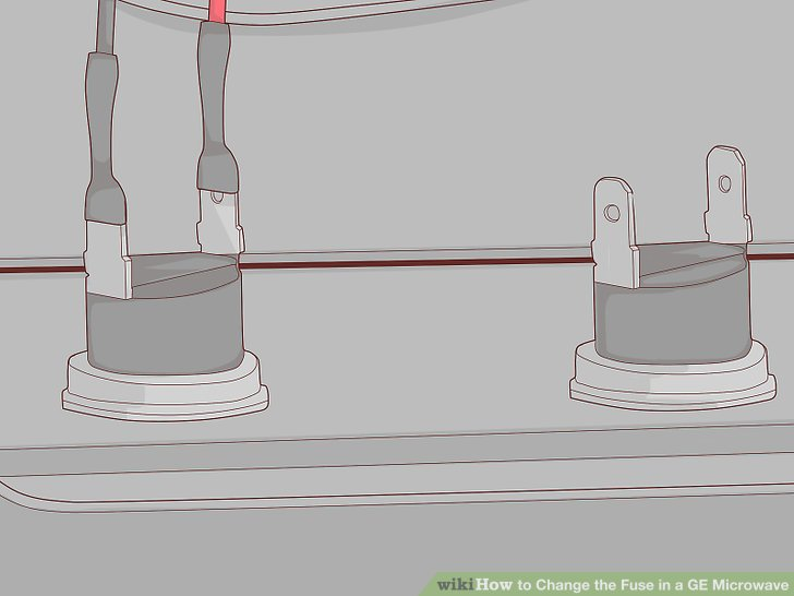 ge electric oven wiring diagram 3 way switch power at how to change the fuse in a microwave with pictures wikihow image titled step 16