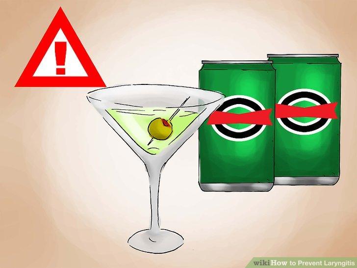 Halten Sie Ihren Alkoholkonsum moderat.