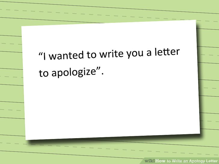 How To How to Write an Apology Letter