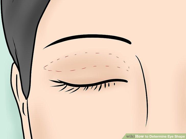 Fragen Sie sich, ob Ihr Augenlid eine Falte hat.
