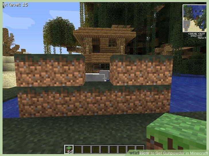 Grabe eine Falle vor dem Haus (optional).