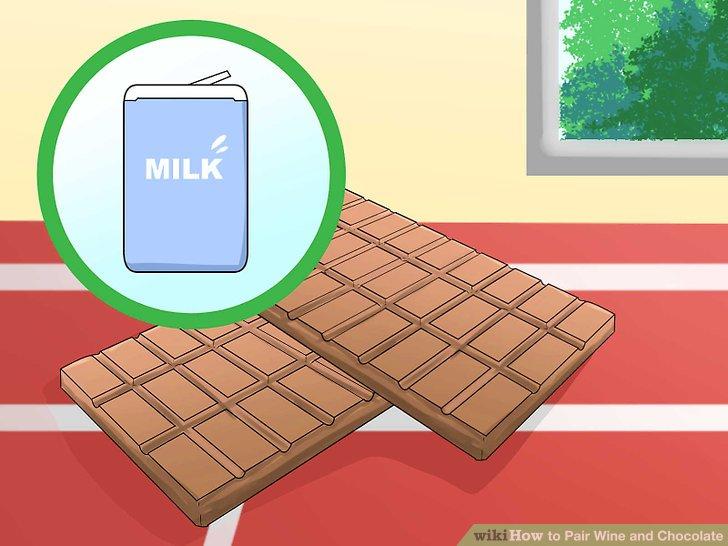 Wählen Sie Milchschokolade für ein süßeres Aroma und eine cremige Textur.